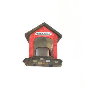 """Dept. 56 Heritage Village Collection """"RED COVERED"""